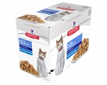 HILL'S SCIENCE DIET SENIOR WET CAT FOOD OCEAN FISH ADULT 7+ POUCHES 12X85G