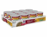 HILL'S SCIENCE DIET HEALTHY CUISINE WET CAT FOOD ROASTED CHICKEN & RICE MEDLEY KITTEN CANS 24X79G