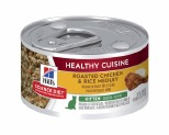 HILL'S SCIENCE DIET HEALTHY CUISINE WET CAT FOOD ROASTED CHICKEN & RICE MEDLEY KITTEN CAN 79G