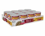 HILL'S SCIENCE DIET HEALTHY CUISINE WET CAT FOOD ROASTED CHICKEN & RICE MEDLEY ADULT CANS 24X79G**