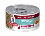HILL'S SCIENCE DIET HEALTHY CUISINE WET CAT FOOD SEARED TUNA & CARROT MEDLEY ADULT CAN 79G