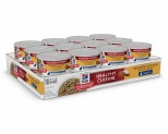 HILL'S SCIENCE DIET HEALTHY CUISINE SENIOR WET CAT FOOD ROASTED CHICKEN & RICE MEDLEY ADULT 7+ CANS 24X79G**