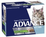 ADVANCE KITTEN 2-12 MONTHS WITH LAMB IN GRAVY 85GX12