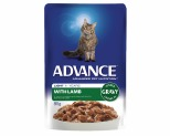 ADVANCE CAT 1+ YEARS ADULT LIGHT LAMB IN GRAVY 85G**