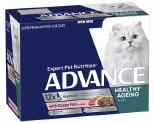 ADVANCE CAT 8+ YEARS MATURE OCEAN FISH IN JELLY 85GX12