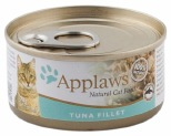 APPLAWS CAT TIN TUNA FILLET 70G