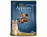 APPLAWS CAT POUCH TUNA WITH SEA BREAM 70G