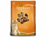 APPLAWS CAT POUCH CHICKEN BREAST WITH PUMPKIN 70G