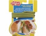 LIVING WORLD GUINEA PIG HARNESS/LEAD SET - GREEN