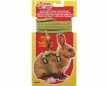 LIVING WORLD RABBIT HARNESS/LEAD SET - GREEN