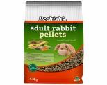PECKISH ADULT RABBIT PELLETS 4.5KG - CARROT & MINT