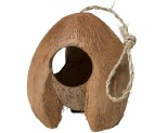 PISCES NAT BIRD HOUSE COCONUT**