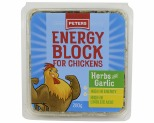 PETERS ENERGY BLOCK FOR CHICKENS - HERB AND GARLIC (NOT AVAILABLE IN WA, NT & TAS)