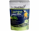 PECKISH LARGE PARROT NATURAL GREENS TREAT 200G