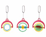 KAZOO BIRD TOY ASSORTED DECO RED/BLUE/LIME GREEN