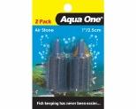 AQUA ONE AIR STONE 2.5CM (2PK)