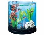 TETRA HALF MOON COLOUR FUSION STARTER KIT WITH LED LIGHTS 11 LITRES