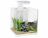 AQUA ONE BETTA SANCTUARY 10L WHITE~