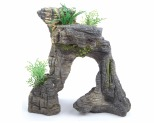 KAZOO GREYSTONE ARCH WITH PLANT SET SMALL