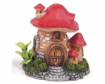 KAZOO MUSHROOM HOUSE WITH PLANTS ORNAMENT