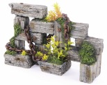 KAZOO WOODEN SLEEPERS WITH CHAIN & PLANTS - X LARGE**