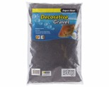 AQUA ONE DECORATIVE GRAVEL BLACK SILICA 5KG 1MM NO.1