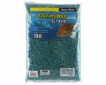 AQUA ONE DECORATIVE GRAVEL AQUA 5KG 7MM