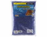 AQUA ONE DECORATIVE GRAVEL DEEP BLUE 5KG 7MM