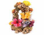 KAZOO REEF ROCK WITH CORAL & PLANTS - MEDIUM