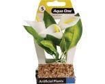 AQUA PLASTIC PLANT CALLA LILY 14.5CM