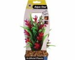 AQUA ONE PLASTIC PLANT LUDWIGIA GREEN SWORD RED 24.5CM