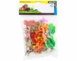 AQUA ONE PLASTIC PLANT MIXED SMALL 6 PACK
