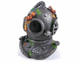 KAZOO DIVERS HELMET WITH AIR - MEDIUM