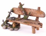 KAZOO BENCH WITH ANCHOR - LARGE