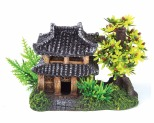 KAZOO JUNGLE HUT WITH PLANTS - MEDIUM
