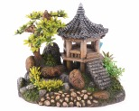 KAZOO CHINESE TEMPLE WITH PLANTS - MEDIUM