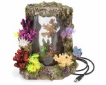 KAZOO LED CORAL CENTREPIECE W/PLANTS & AIR - EXTRA LARGE