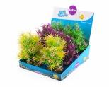 KAZOO PLASTIC PLANTS - PINE LEAF W/FLOWER ASSORTED