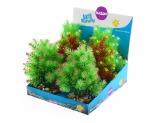 KAZOO PLASTIC PLANTS - SMALL LEAF ASSORTED
