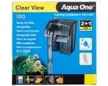 AQUA ONE 100 CLEARVIEW HANG ON FILTER 180L/HR
