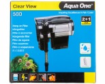 AQUA ONE CLEARVIEW 500 HANG ON FILTER 500 L/HR