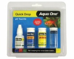 AQUA ONE TEST KIT PH QUIK DROP 100 TEST