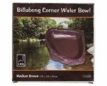 URS BILLABONG CORNER BOWL BROWN 170X160X45MM 350ML - MEDIUM