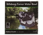 URS BILLABONG CORNER BOWL GRANITE 170X160X45MM 350ML - MEDIUM
