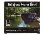 URS WATER BOWL GRANITE 10X8X3.5CM 75ML - SMALL