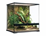 EXO TERRA TERRARIUM ALL GLASS - MED TALL~