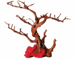 AQUA ONE HERMIT CRAB CLIMBING BRANCHES AND RED ROCK 24.5X18X19CM