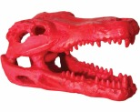 AQUA ONE HERMIT CRAB ALLIGATOR SKULL RED 7.5X4.5X4.5CM