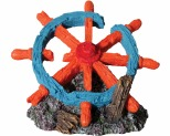 AQUA ONE HERMIT CRAB SHIP WHEEL 14X10.5X10.5CM