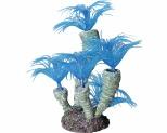 AQUA ONE HERMIT CRAB TUBE WORM BLUE 13X12X13.5CM